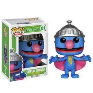 🆕 Listing - FUNKO Pop! Super Grover (SS) #01